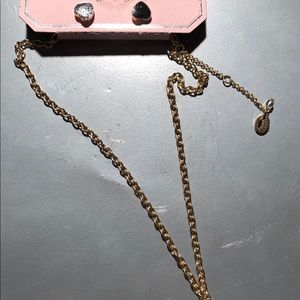 Juicy Couture Bee Charm Necklace Set